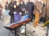 ..selbst das E-Piano, die Boxen und Mikrofon!