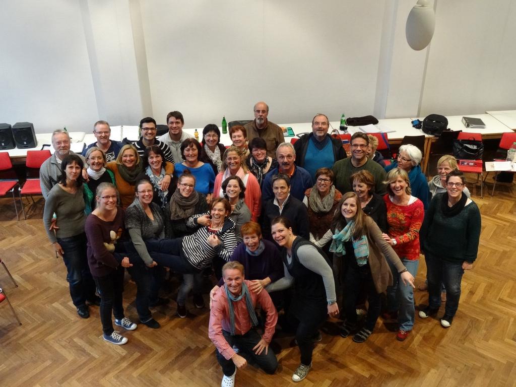 Der komplette Chor in Kronenburg 2013