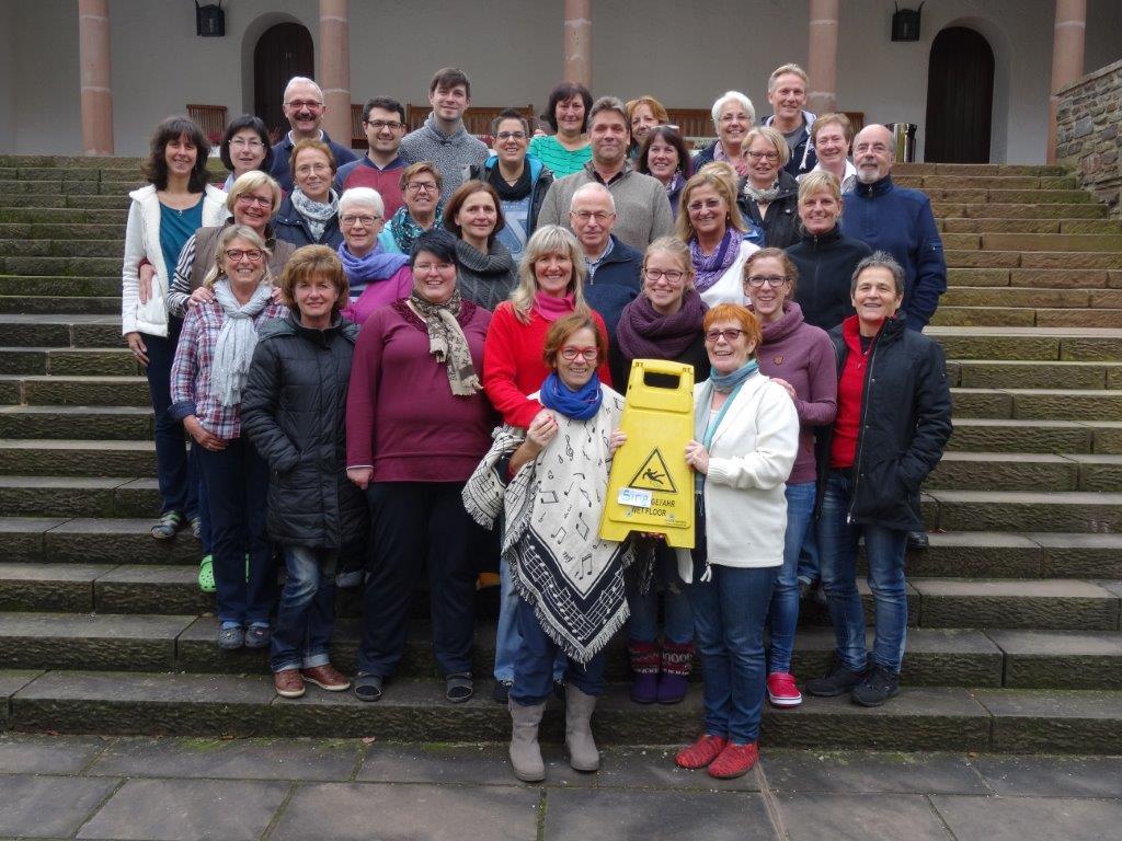 Der komplette Chor in Kronenburg 2015
