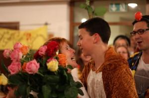 und noch eine Rose und ein Küßchen...