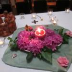 Abschied vom Taizé-Gebet auf dem Michaelsberg in Siegburg