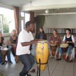 Trommelworkshop mit Michel 2011